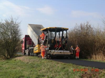 Foto zu Meldung: Instandsetzung Verbindungsweg Ziltendorfer Niederung