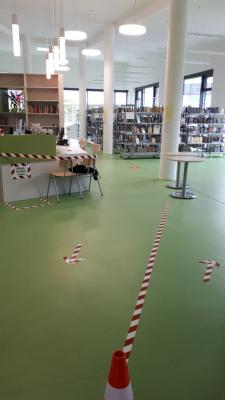 Vorschaubild zur Meldung: Wiedereröffnung Bibliothek