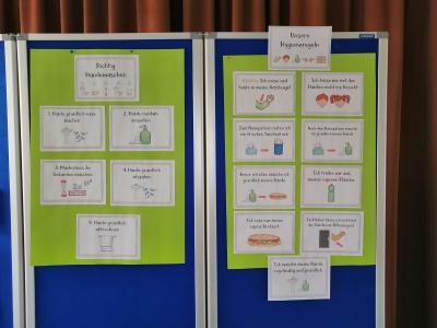 Vorschaubild zur Meldung: Hygienemaßnahmen und andere Infos für die Eltern