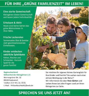 Vorschaubild zur Meldung: Kleingärten zu vermitteln