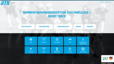 Rahmentrainingskonzeption Eisschnelllauf/ Short Track. © IAT/ DESG