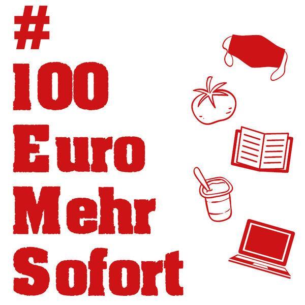 Bild der Meldung: 100 Euro mehr, sofort