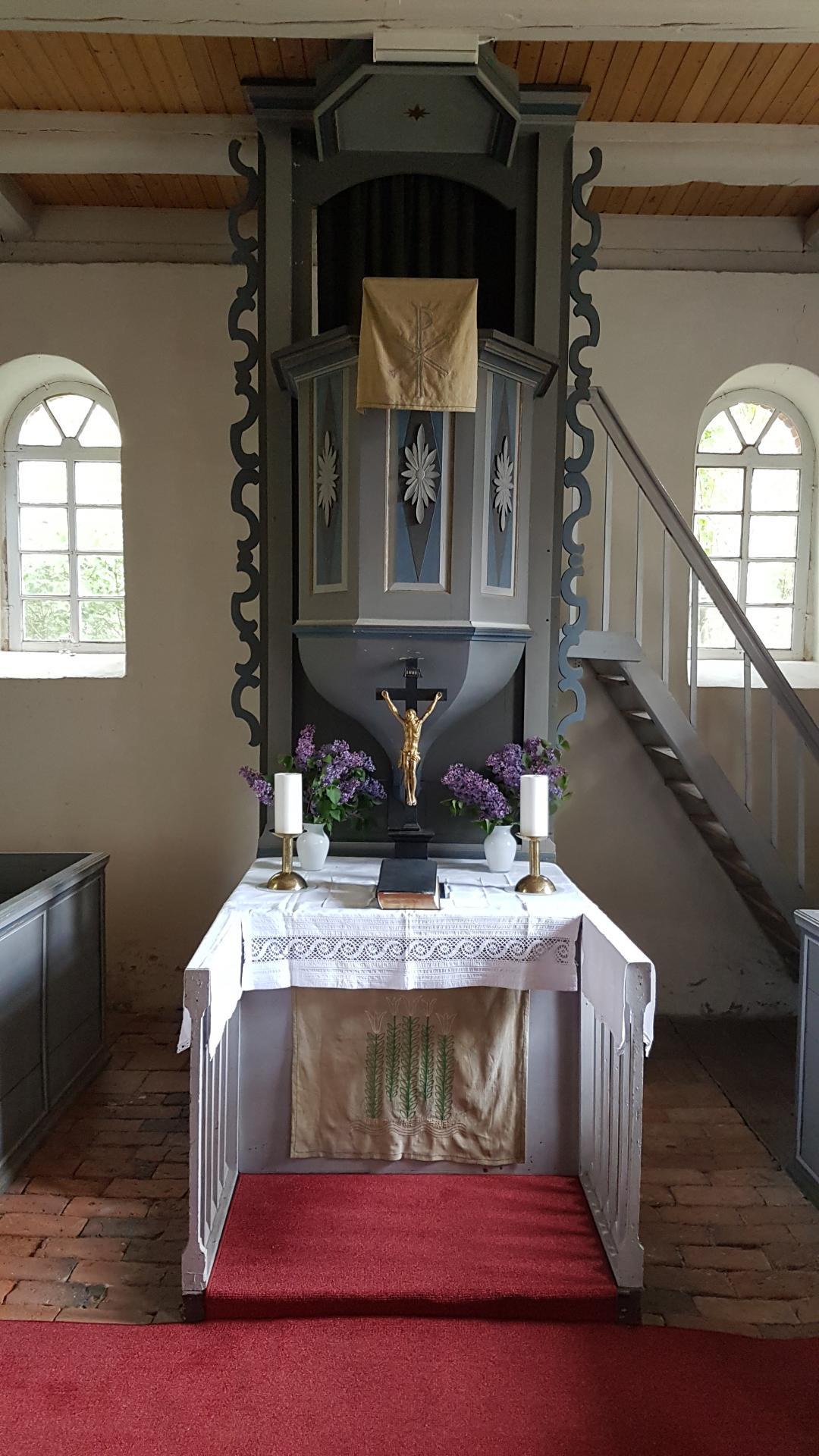 Bild der Meldung: Quarnebecker Kirche nach Bauarbeiten wieder für Gottesdienste bereit