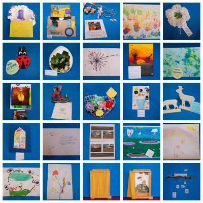 Vorschaubild zur Meldung: Ausstellung zum Grünheider Kreativwettbewerb