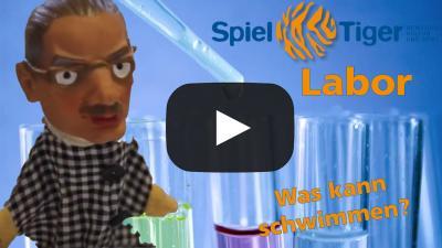 Bild der Meldung: SpielTiger Experimente mit Prof. Ziegenbein Folge 4 Was schwimmt?