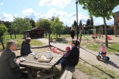 Foto zu Meldung: Kita Netzen hat nach Quarantäne am Dienstag wieder geöffnet