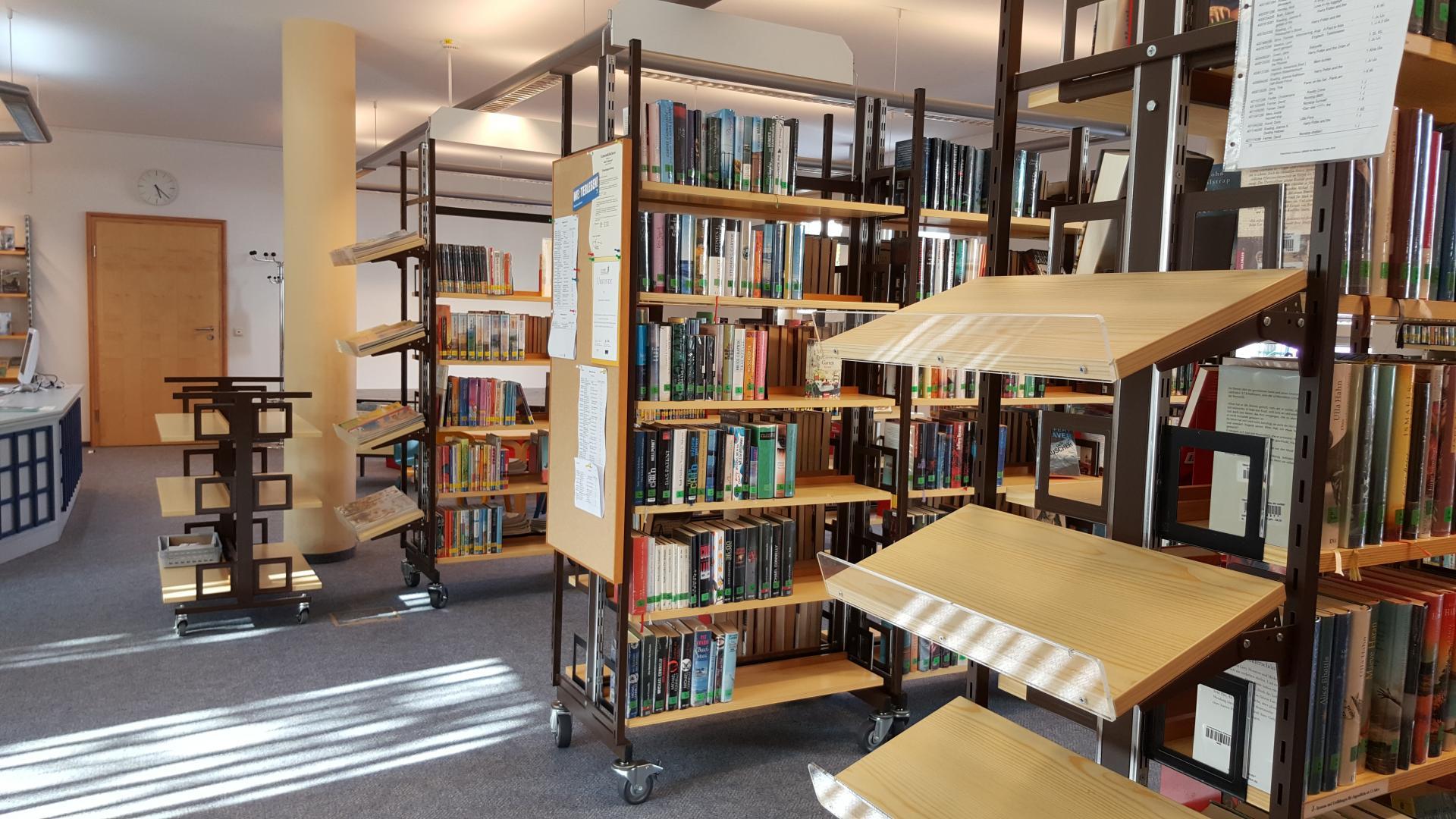Bild der Meldung: Bücherei ab Montag, den 11.05, wieder geöffnet