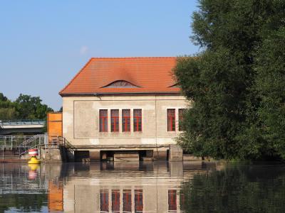 Das Pumpenhaus an der Paretzer Schleuse, Susanne Weber 2016