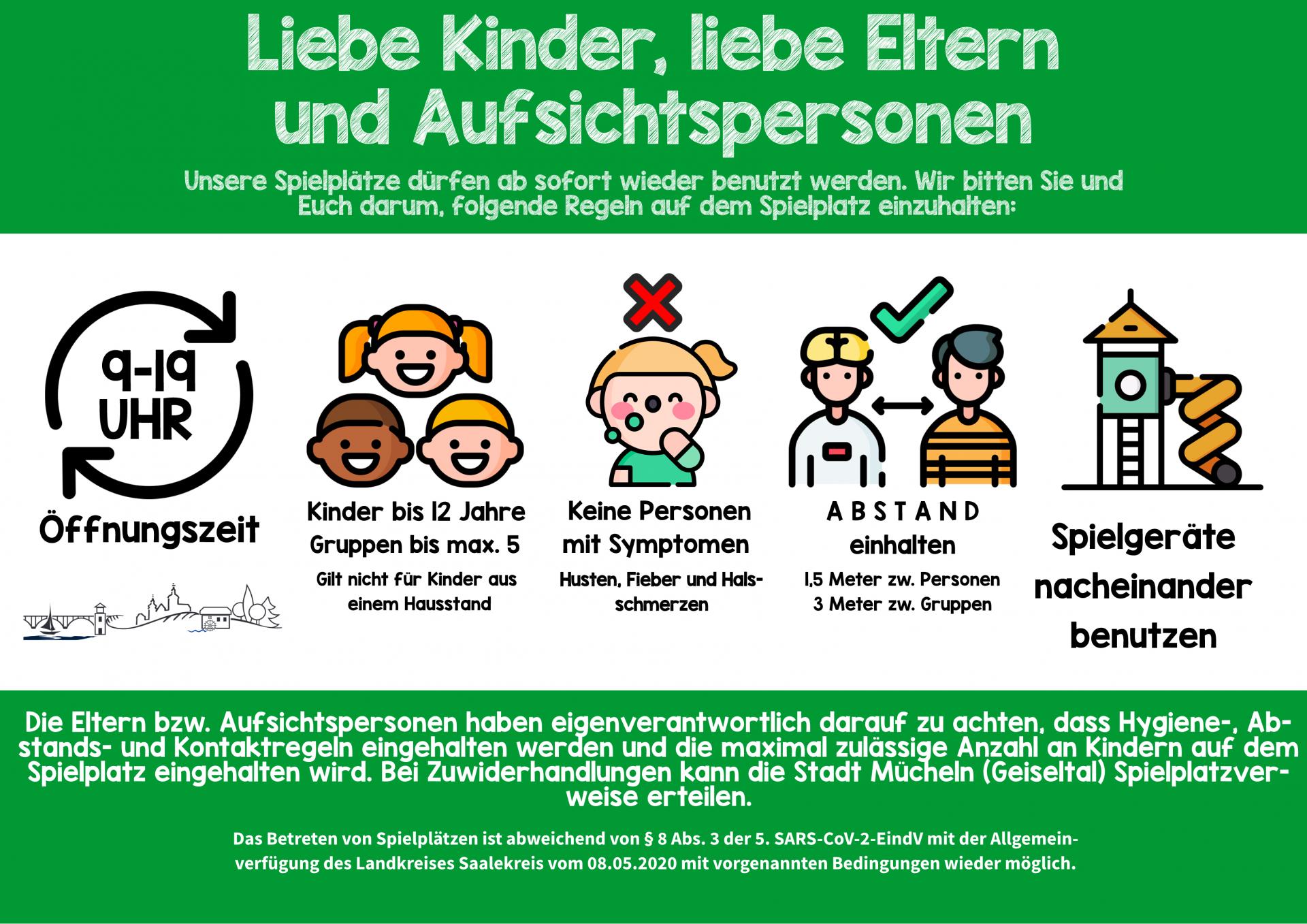 Bild der Meldung: Die Stadt Mücheln (Geiseltal) öffnet die öffentlichen SPIELPLÄTZE