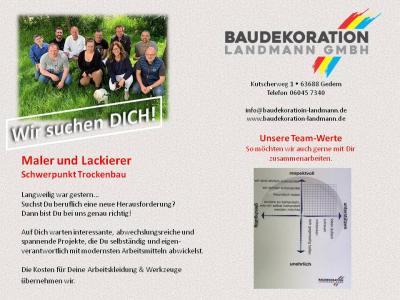 Vorschaubild zur Meldung: Werde Teil unseres Landmann-Teams!
