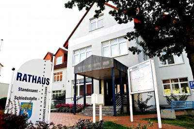 Foto zur Meldung: Lehniner Rathaus wird schrittweise geöffnet