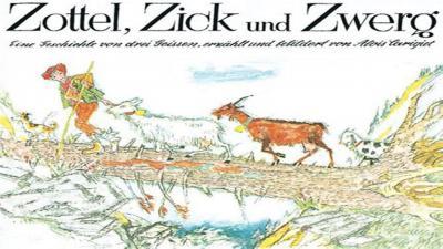 Foto zur Meldung: Hörbuch Alois Carigiet: Zottel, Zick und Zwerg - Neu auf unserem YouTube Kanal