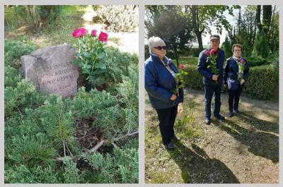 Foto zu Meldung: Rehfelder Heimatverein ehrt  die  Opfer der NS - Gewaltherrschaft