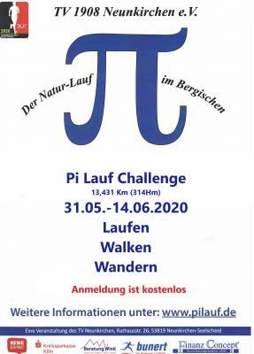 Flyer Pi-Lauf 2020