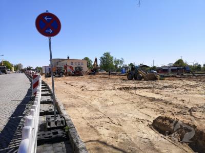 Foto zur Meldung: Bahnhofsumfeld: Leitungen diverser Medien sind im Boden