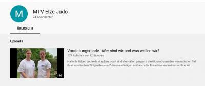 YouTube Kanal geht an den Start