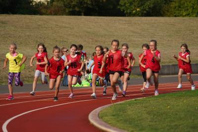 400-m-Lauf der Mädchen