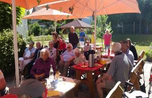 """Bild der Meldung: Sommerfest im Seniorenzentrum """"Lindach"""""""