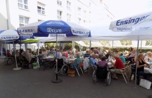 """Vorschaubild der Meldung: Sommerfest im Seniorenzentrum """"An der Lauter"""""""