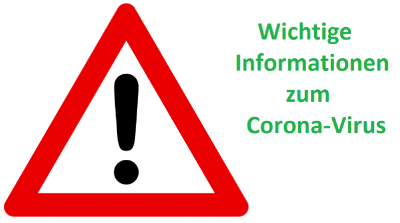 Vorschaubild zur Meldung: Neue Informationen und Stundenplan - Corona