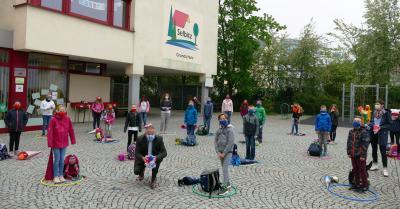 Vorschaubild zur Meldung: Erster Schultag für die Viertklässler