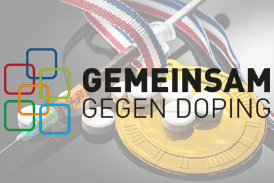 Die DGSP beteiligt sich am Kampf gegen Doping