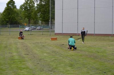 """Foto zur Meldung: Erstes """"Training im Freien"""" beim MTV Förste"""