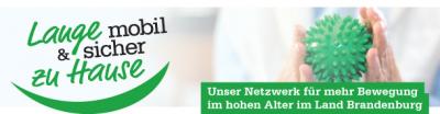 """Logo """"Lange mobil und sicher zu Hause"""""""