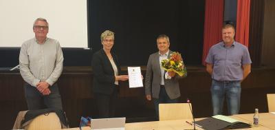 Foto zur Meldung: Andreas Heinrich zum Finanzverantwortlichen gewählt