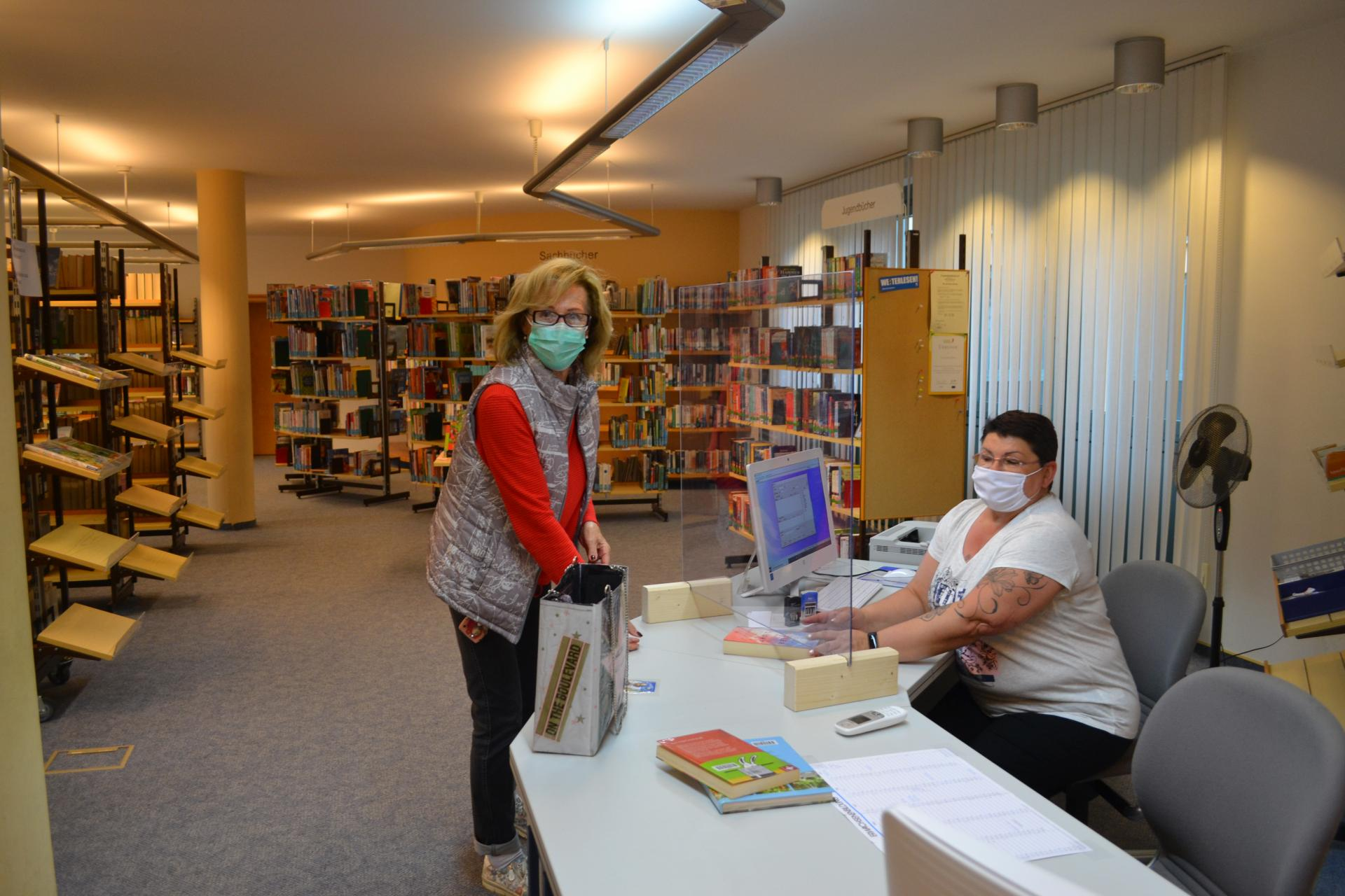Bild der Meldung: Bücherei seit dieser Woche wieder geöffnet