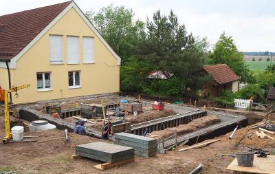 Anbau an die bisherige Kindertagesstätte (Bild: G. Rott)