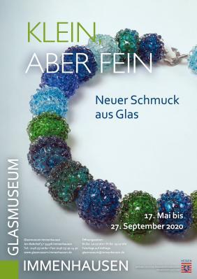 Vorschaubild zur Meldung: Glasmuseum: Klein, aber fein - Neuer Schmuck aus Glas
