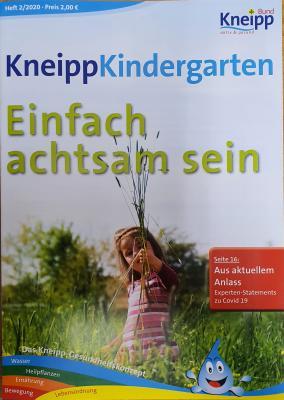 Vorschaubild zur Meldung: Einfach achtsam sein- neue Ausgabe des KneippKindergarten