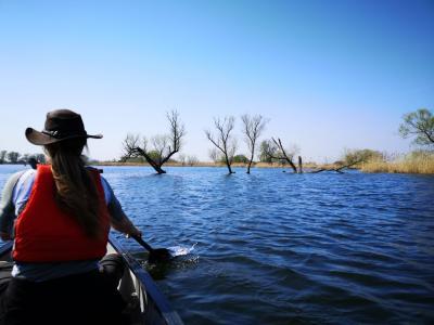 Foto zur Meldung: Lehniner Kanu-Saison hat begonnen