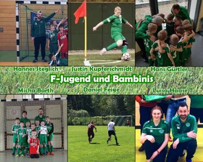 Vorschaubild zur Meldung: Vorstellung der Trainer - F Jugend und Bambinis