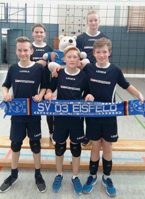 Foto zur Meldung: Erstmalig  Pokalfinale der U14 männlich in Eisfeld