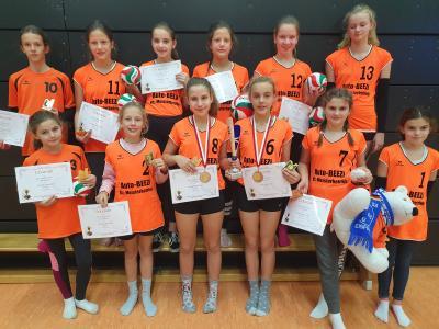Foto zur Meldung: bundesweit  offenes  Einsteiger - Turnier  der AK U12 und U13  in Gera