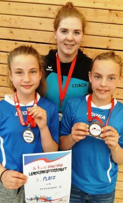 Foto zur Meldung: erste Medaille bei Thüringer Meisterschaft für Eisfelder Volleyball-Nachwuchs
