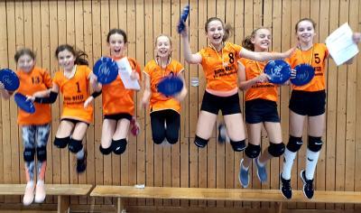 Foto zur Meldung: 25.Kreisjugendspiele im Volleyball  (Sonneberg)