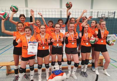Foto zur Meldung: Eisfelder erleben Volleyball - Highlight