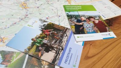 Vorschaubild zur Meldung: Freizeitkarte JenaSaaleland neu aufgelegt