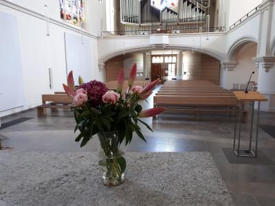Foto zur Meldung: Gottesdienste in der Johanneskirche von Pfingsten bis Anfang Juli