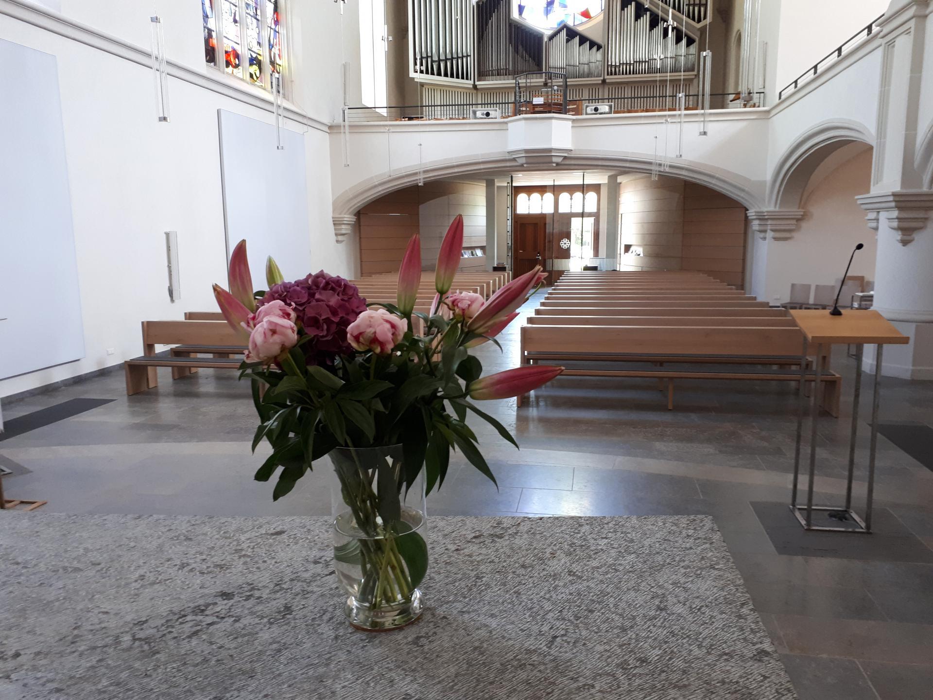 Bild der Meldung: Gottesdienste in der Johanneskirche von Pfingsten bis Anfang Juli