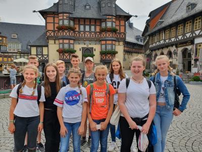 Foto zur Meldung: 1. Sommer – Ferien  - Trainingslager  in Schierke / Harz
