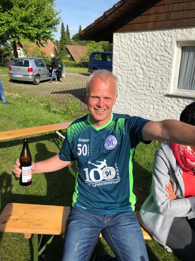 Bild der Meldung: AH Leiter und Spvgg Legende Klaus Armbruster feiert seinen 50zigsten Geburtstag!!