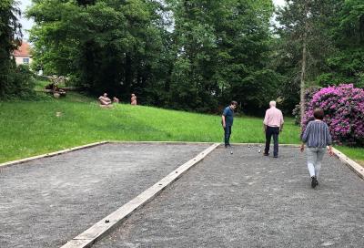 Spiel-Spaß im Schlosspark
