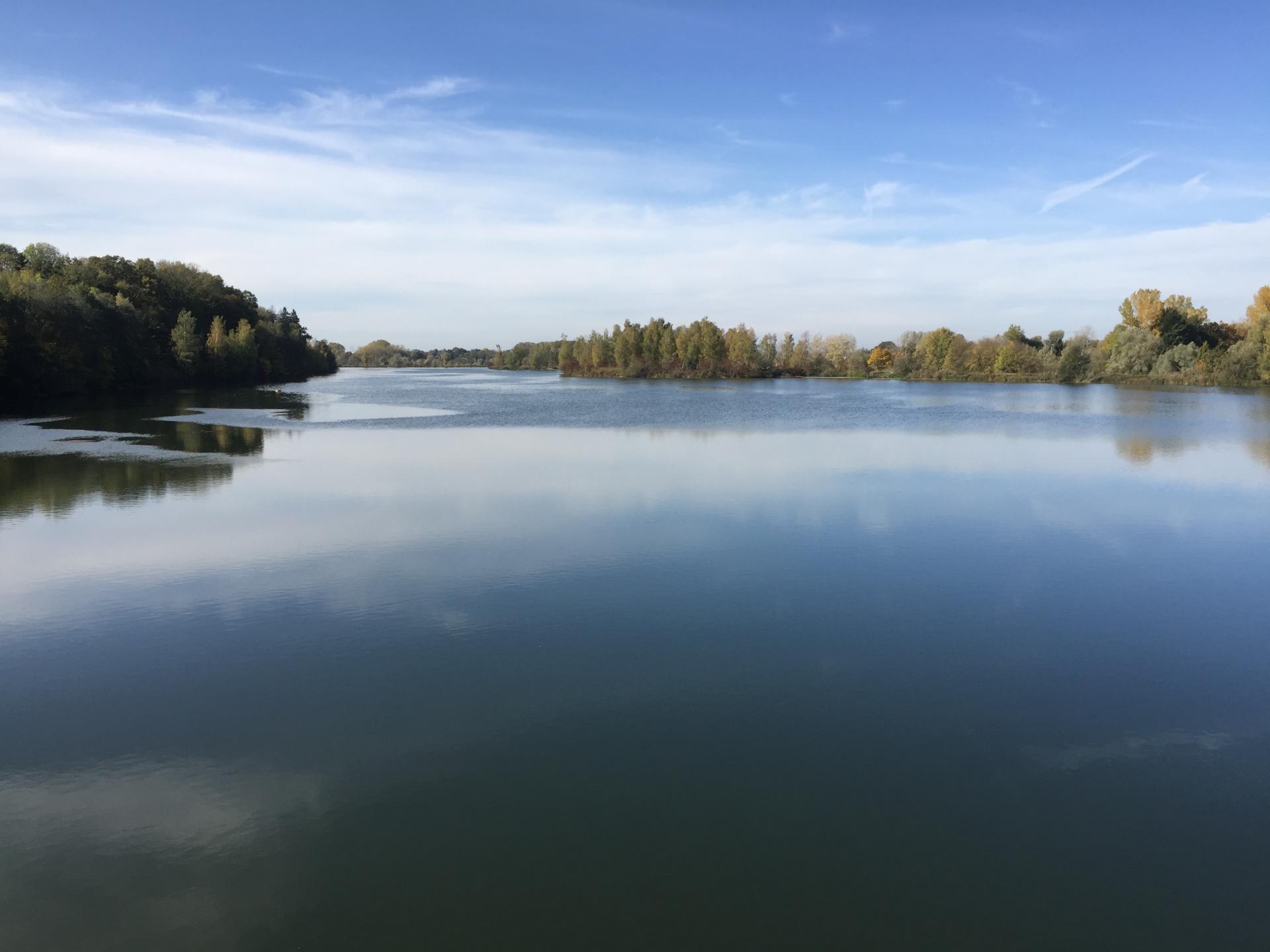 Bild der Meldung: Herstellung eines Grundwasserbaggersees