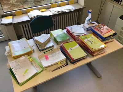 Vorschaubild zur Meldung: Homeschooling – viel Arbeit für Schüler und Lehrer