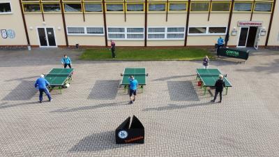 Vorschaubild zur Meldung: Die Tischtennisspieler trainieren wieder!