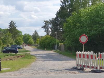 Foto zur Meldung: Kurzinformation -  Straßenbau
